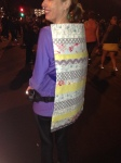 Me and my cape at the Disneyland Avengers Half Marathon. Did I mention I hate superheroes and costumes at races?